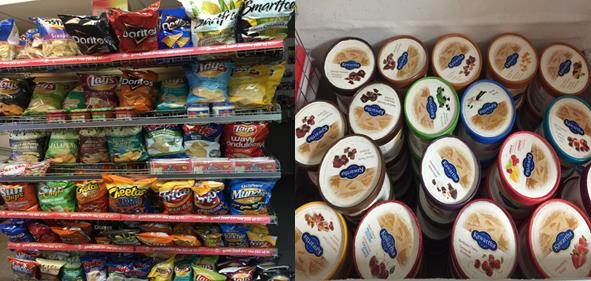 shelves stocked